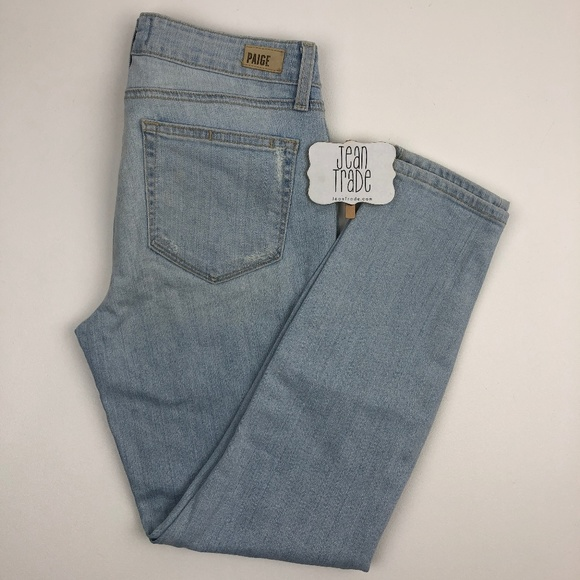 PAIGE Denim - PAIGE Verdugo Cropped Skinny Jeans